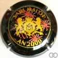 Champagne capsule 33.b Noir