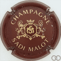 Champagne capsule 7 Marron et or