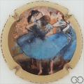 Champagne capsule 3 E. Degas, émaillée