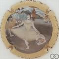 Champagne capsule 3.b E. Degas, émaillée