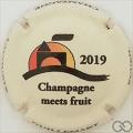 Champagne capsule A15 Crème et noir
