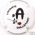 Champagne capsule 24.a A, fond blanc, avec strass