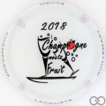 Champagne capsule  Champagne meets Fruit 2018