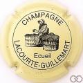 Champagne capsule 7 Crème et noir