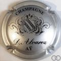 Champagne capsule 4 Argent et noir