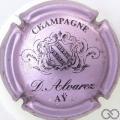 Champagne capsule 6 Rosé-violacé et noir
