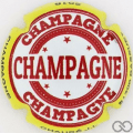 Champagne capsule 49.a Contour jaune