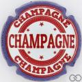 Champagne capsule 49.c Contour bleu