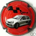 Champagne capsule  Clio V6, numérotée