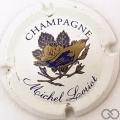 Champagne capsule 5 Blanc, or et bleu