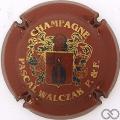 Champagne capsule A1.c Bordeaux et or