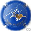 Champagne capsule 616 An 2000, n° 616, bleu