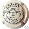 Champagne capsule 14.c Blanc et noir