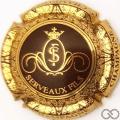 Champagne capsule 15.a Bordeaux foncé et or