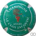 Champagne capsule 1 Fond vert