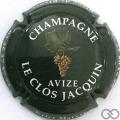 Champagne capsule 2 Fond vert foncé