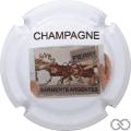 Champagne capsule 2 Blanc, Sarments Argentés