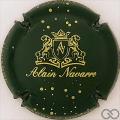 Champagne capsule 9 Vert-noir et or