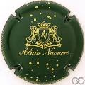 Champagne capsule 6 Vert foncé et or