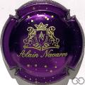 Champagne capsule 10.a Violet métallisé et or