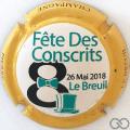 Champagne capsule 7.d Mignon Pierre, contour jaune