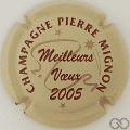 Champagne capsule 33.b 2005, crème