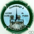 Champagne capsule 169.c Contour vert foncé