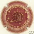 Champagne capsule 23 Bordeaux, striée
