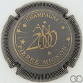 Champagne capsule 26.a Gris, striée