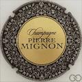 Champagne capsule 151.a Or, contour noir