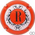 Champagne capsule 155.f Contour orange