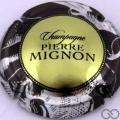 Champagne capsule 157.b Jéroboam, contour noir métallisé