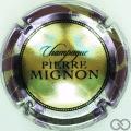 Champagne capsule 157.c Jéroboam, contour violet pâle