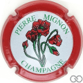 Champagne capsule 30 Contour rouge