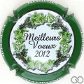 Champagne capsule 33.q Contour vert