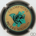 Champagne capsule 18 Contour vert foncé