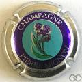 Champagne capsule 17.a Contour métal
