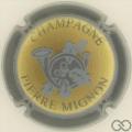 Champagne capsule 19.a Contour gris