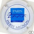 Champagne capsule 31 Blanc et bleu