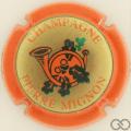 Champagne capsule 19.b Contour orange
