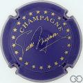 Champagne capsule 32 Bleu et or