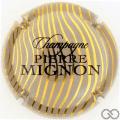 Champagne capsule 197.c Grège, rayures or