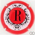 Champagne capsule 155.l Contour rouge