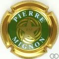 Champagne capsule 14.k Vert et or