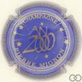 Champagne capsule 24 Bleu, striée