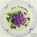 Champagne capsule 108 Contour violet
