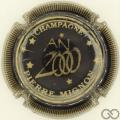 Champagne capsule 25 Noir, striée