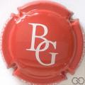 Champagne capsule 6 Rouge et blanc