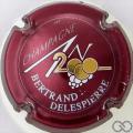 Champagne capsule 615 An 2000, n°615, bordeaux