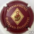 Champagne capsule 9 Bordeaux foncé et or